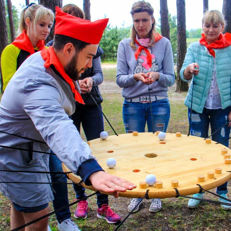 День Пионерии - корпоративный отдых на природе (Калуга)