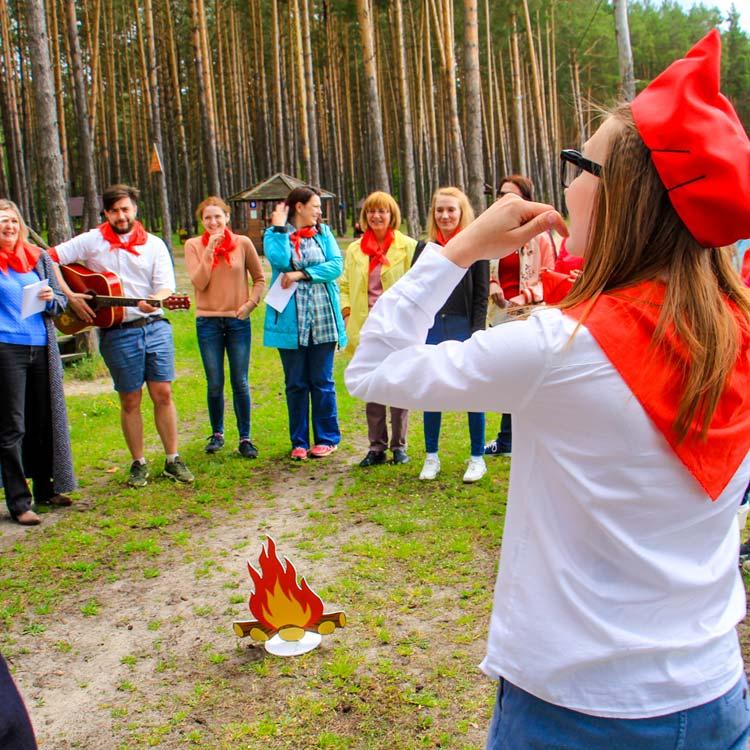 День Пионерии - тимбилдинг в Калуге