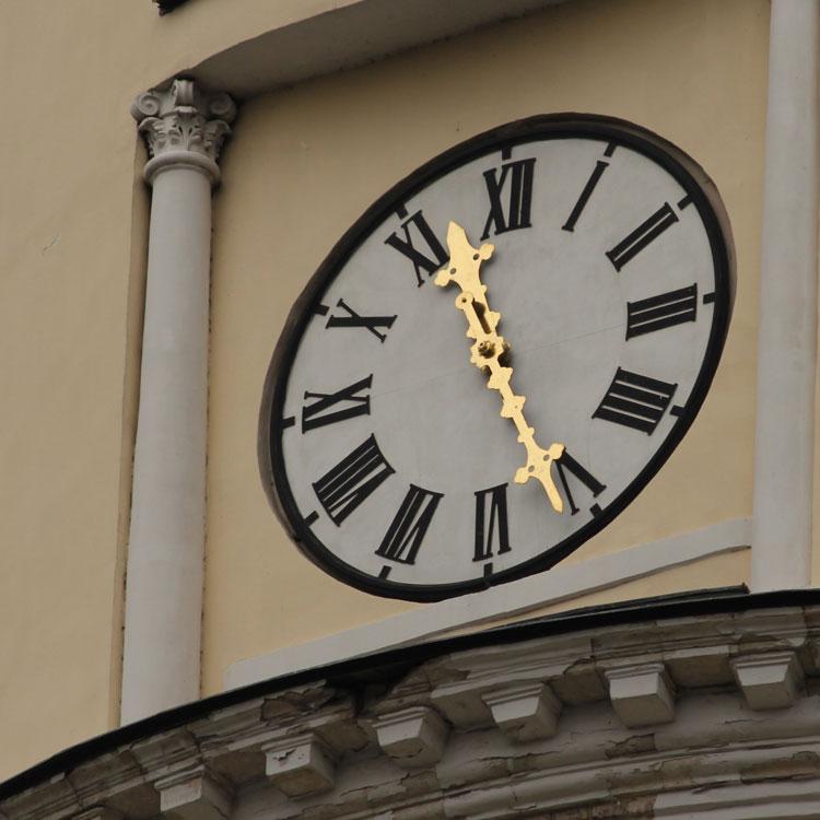 Викторина: Городские часы в Калуге
